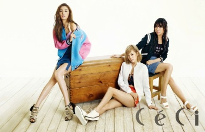 Orange Caramel - Ceci Magazine April Issue 2014 (1)