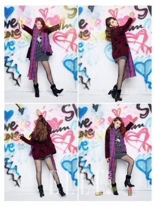 Sohyun 4minute - Elle Magazine December Issue 2013 (2)