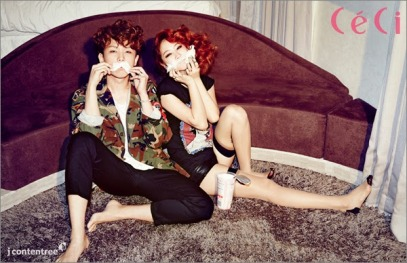 Soyu and Junggigo - Ceci Magazine April Issue 2014 (2)