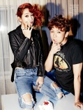 Soyu SISTAR and Junggigo - Ceci Magazine April Issue 2014 (2)