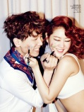Soyu SISTAR and Junggigo - Ceci Magazine April Issue 2014