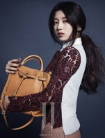 Suzy miss A W Magazine December Mag (3)