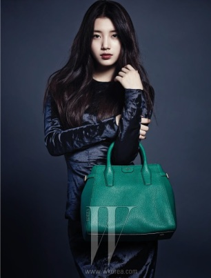 Suzy miss A W Magazine December Mag (5)