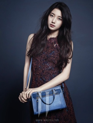 Suzy miss A W Magazine December Mag (8)