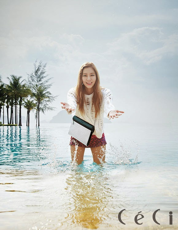 Uee After School - Ceci Magazine June issue 2014