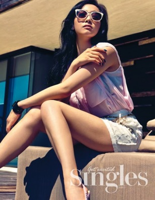 Victoria f(x) - Singles Magazine May Issue 2014
