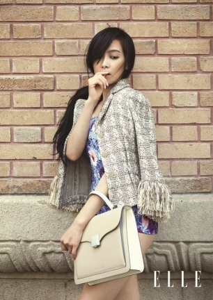 Victoria Song f(x) - Elle Magazine June Issue 2014 (10)