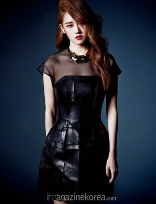 Gayoon 4minute - Harper's Bazaar Magazine May Issue 2014