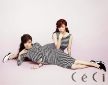Hyosung and Sunhwa SECRET - Ceci Magazine June Issue 2014