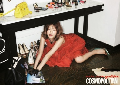 Hyuna 4minute - Cosmopolitan Magazine March Issue 2014 (1)