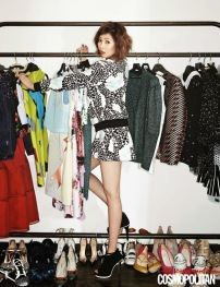 Hyuna 4minute - Cosmopolitan Magazine March Issue 2014 (3) (1)