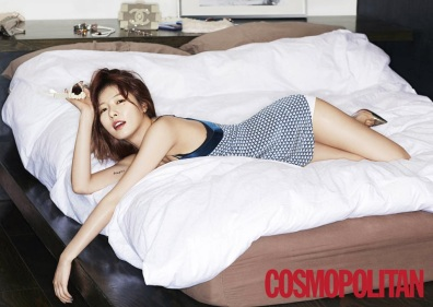 Hyuna 4minute - Cosmopolitan Magazine March Issue 2014 (4)
