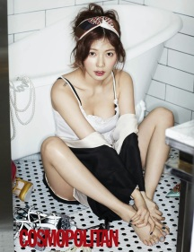 Hyuna 4minute - Cosmopolitan Magazine March Issue 2014
