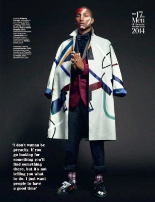 Pharrell Williams - GQ Magazine UK (Oct 2014) (4)