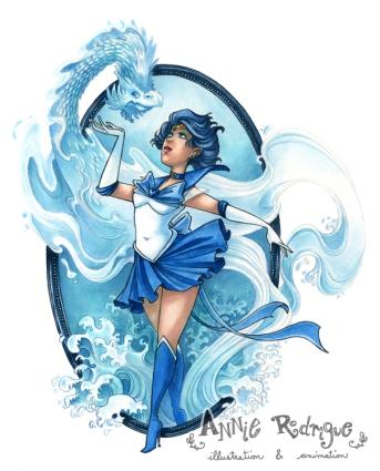 Sailor Mercury by maina