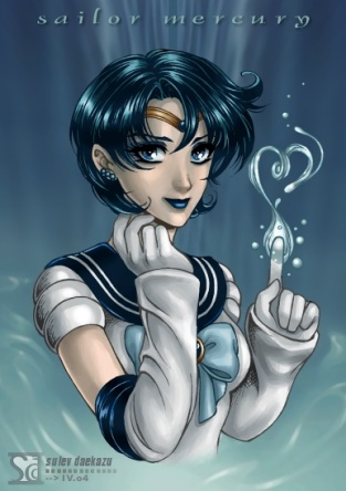 Sailor_Moon__Sailor_Mercury by by Daniel Kordek