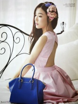 Tiffany Hwang SNSD Girls' Generation - Vogue Girl Magazine March Issue 2014 (2)