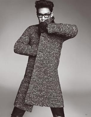 TOP (Big Bang) - High Cut Japan (October 2014) (13)