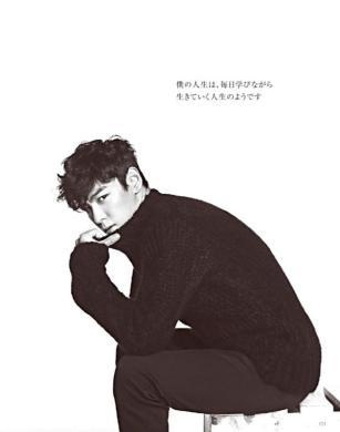 TOP (Big Bang) - High Cut Japan (October 2014) (15)