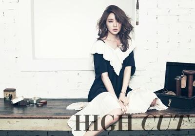 Yoon Eun Hye - High Cut Magazine Vol. 120