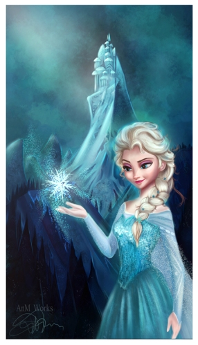 elsa_frozen_by_niniel_illustrator