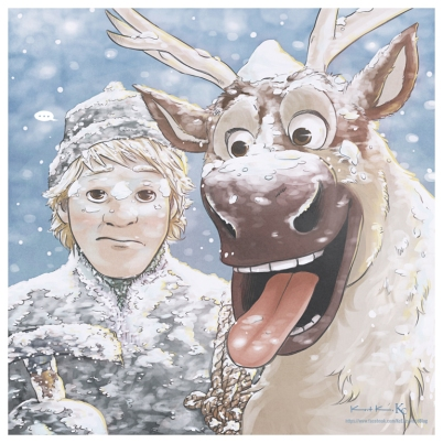 frozen___kristoff_and_sven_by_kc_eazyworld