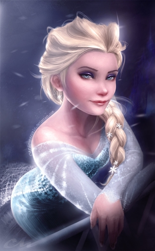 ice_olated___elsa__disney_s_frozen__by_carlo_marcelo