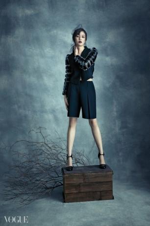 Kang Sora - Vogue Korea (Diciembre 2014) (6)